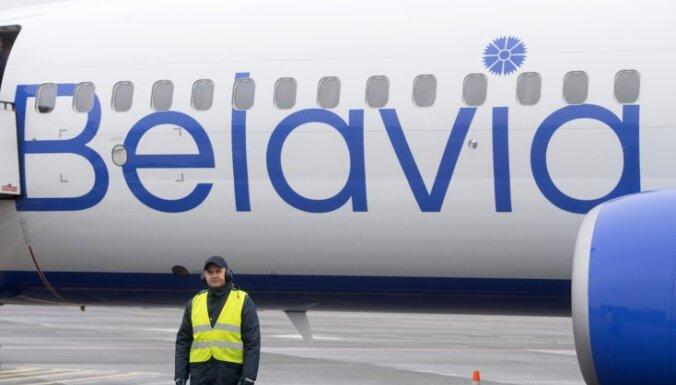 В Таллине приземлился самолет Belavia из Минска. Эстония единственная до сих пор не запретила рейсы из Беларуси