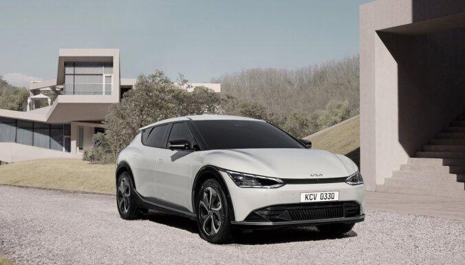 'Kia' atklāj jauno dizaina filozofiju un pirmos 'EV6' attēlus