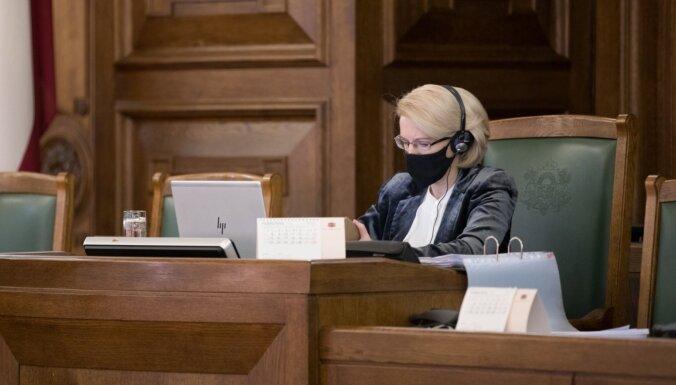 Спикер Сейма допускает замену отдельных министров правительства Кариньша