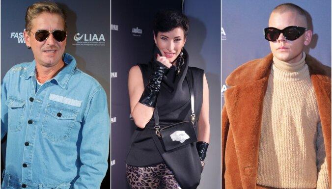 ФОТО: Открытие Рижской недели моды собрало самых стильных знаменитостей