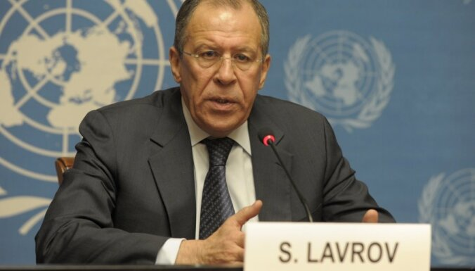 Лавров назвал условия ввода миротворцев в Сирию