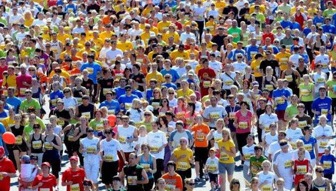 Maratona laikā vienu kilometru varēs izdejot un izdziedāt