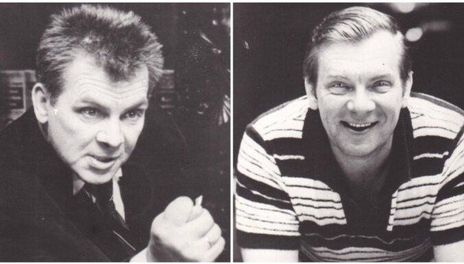 Arhīva foto un video: Dižajam aktierim Eduardam Pāvulam – 90