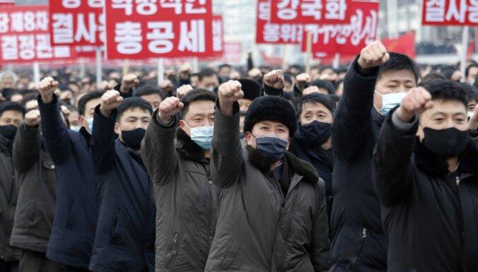 No Covid-19 brīvā Ziemeļkoreja lūgusi vakcīnas
