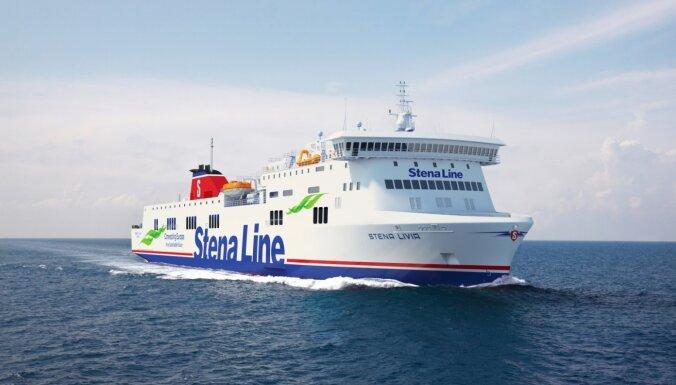 'Stena Line' maršrutā Nīnashamna-Ventspils sāks kursēt jauns prāmis
