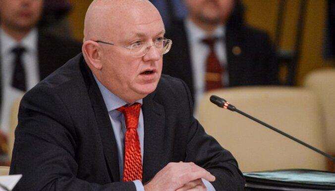 Krievijas ārlietu ministrijā Rietumvalstu līderus salīdzinājumā ar Putinu nodēvē par sīkaļām