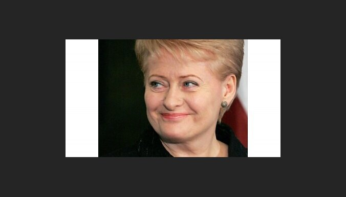Lietuvas prezidente: jaunais budžets ietver rekordlielus parādus