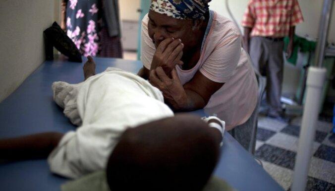 Holēra atkal plosa Haiti un joprojām apdraud Ukrainu