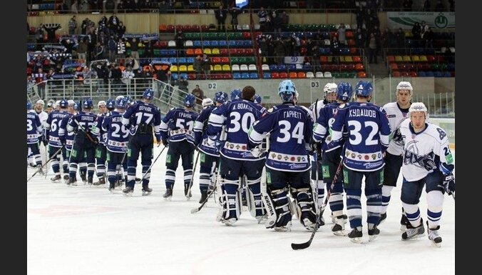 Maskavas 'Dinamo' vārtsargs Gārnets guvis traumu