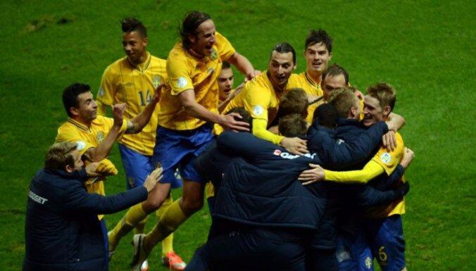 Шведы отыграли четыре мяча с немцами, североирландцы испортили юбилей Роналду