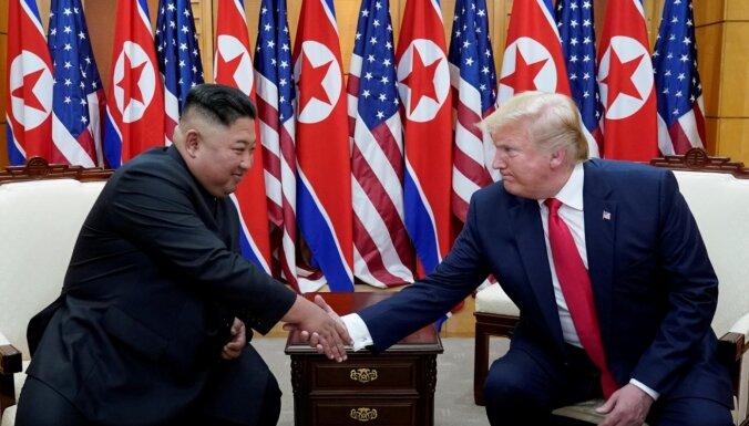 Ziemeļkoreja neredz jēgu Trampa-Kima silto attiecību uzturēšanai