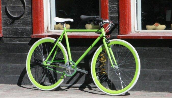 Policija lūdz palīdzību unikāla velosipēda meklēšanā