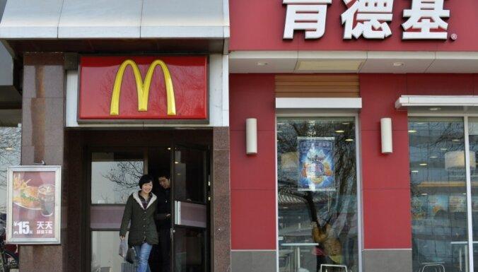 'McDonald's' iecerējis dubultot restorānu skaitu Ķīnā