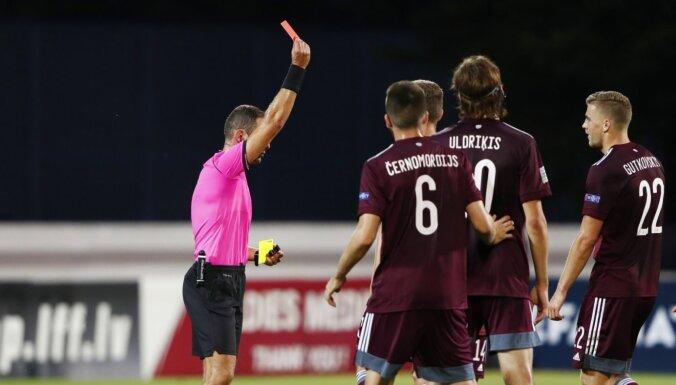 Незабитый пенальти и удаление: сборная Латвии в Лиге наций не смогла обыграть Андорру