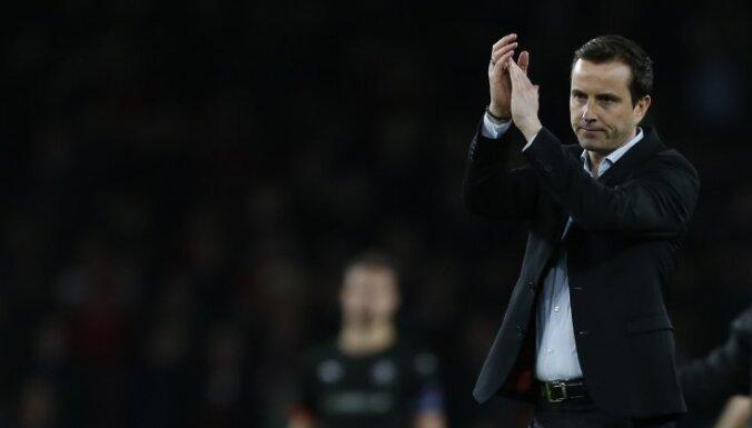 'Stade Rennais' galvenais treneris pēc spēles ar 'Arsenal' kritizē Treimaņa tiesnešu brigādi