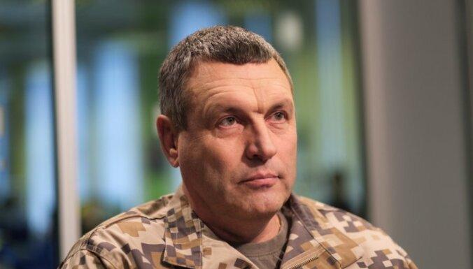 Командующий НВС: российская военная техника у границ Латвии - это информационная война