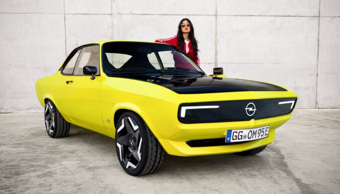 Leģendārā 'Opel Manta' atgriežas elektromobiļa veidolā