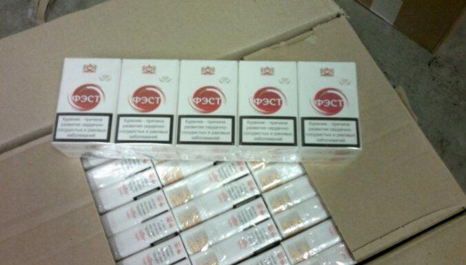 Silenes robežpunktā aiztur 3,1 miljonu kontrabandas cigarešu