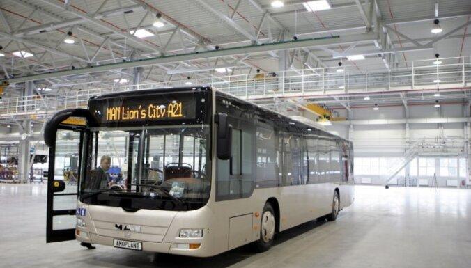 У Елгавы нет денег для выкупа автобусного завода Amo Plant