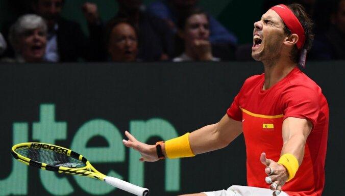 Spānijas tenisisti sesto reizi triumfē Deivisa kausa izcīņā