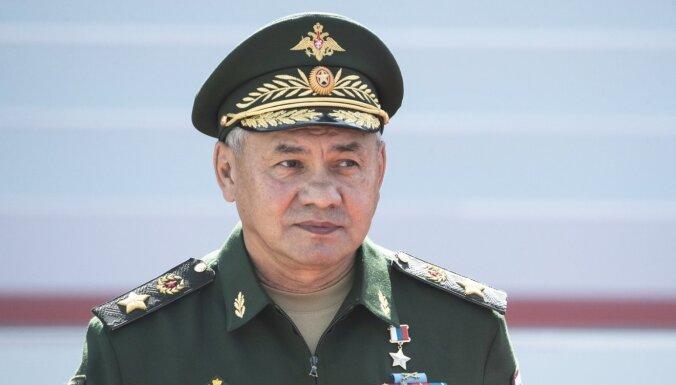 Шойгу: Россия перебросила к западным границам две армии и три соединения ВДВ