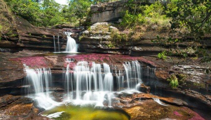 Upe, ko dēvē par Plūstošo varavīksni