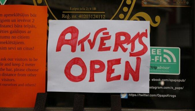 Кариньш пояснил, когда можно обсудить открытие всех магазинов