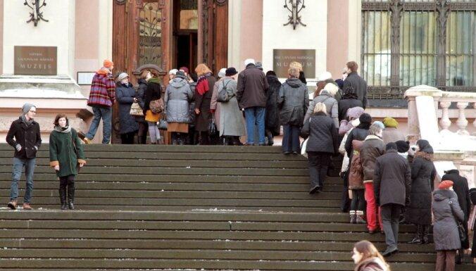 В Художественный музей перед закрытием выстроилась очередь