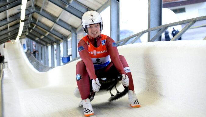 Latvijas čempionu titulus kamaniņu sportā izcīna Rozītis, Aparjode un Šici