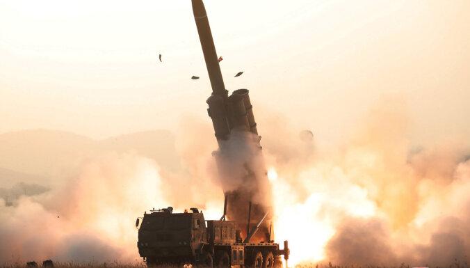 Ziemeļkoreja apstiprina 'superliela' raķešu palaidēja izmēģināšanu