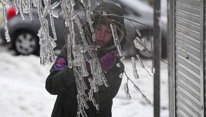 Желтое предупреждение: в восточной части страны ожидается сильный мороз