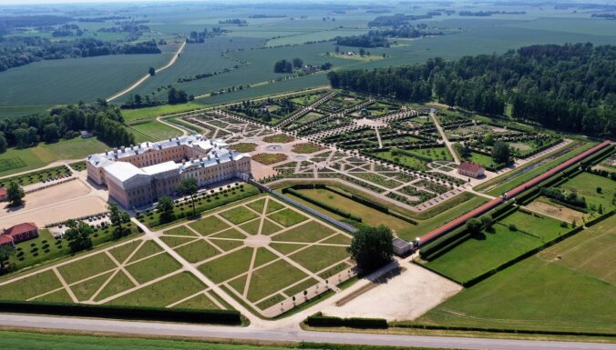 Сад Рундальского замка выиграл престижную премию European Garden Award 2021