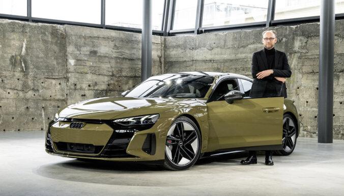 'Audi' prezentējis 600 zirgspēku elektromobili 'e-tron GT'