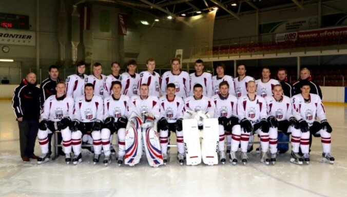 Latvijas hokeja komanda dalību studentu Universiādē noslēdz ar astoto vietu