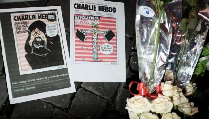 Более 40% французов - против против публикации карикатур на пророка Мухаммеда