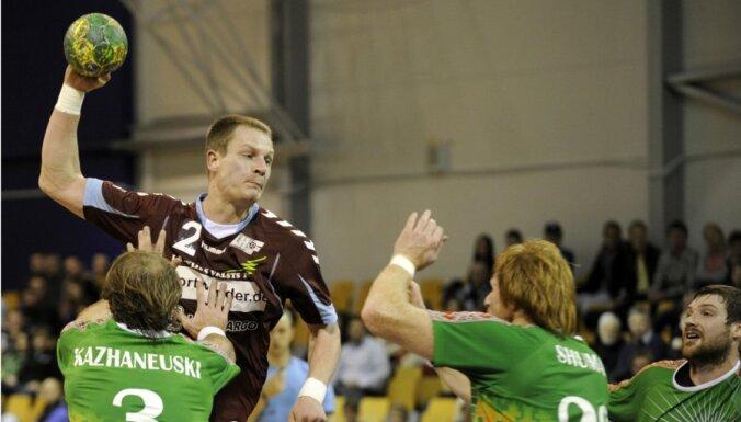 Nosaukts Latvijas handbola izlases sastāvs mačiem ar Slovākiju