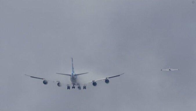 Boeing-747 за три минуты превратился в груду металлолома