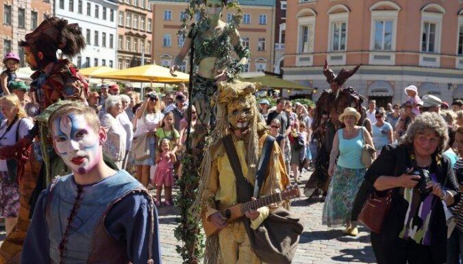 Праздник Риги обошелся городу в полмиллиона евро