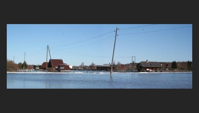 Фото очевидца: волость Светес под водой