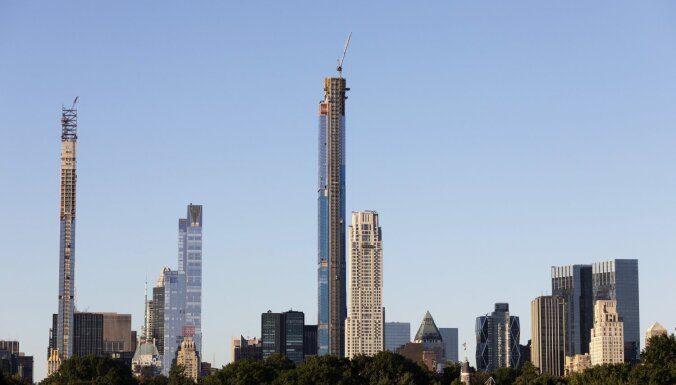 Video: Ņujorkā uzbūvēta pasaulē augstākā dzīvojamā māja