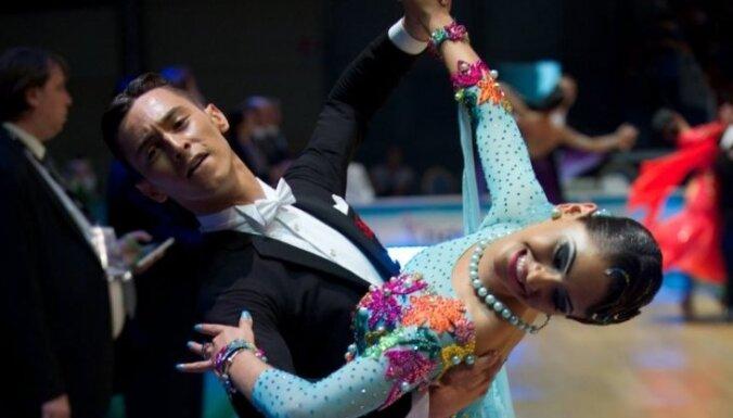 ФОТО: Латвийские танцоры заявили о себе на чемпионате мира U-21