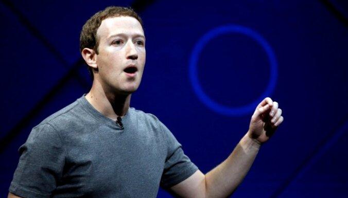 'Facebook' datu skandāls: Zakerbergs atzīst kļūdas