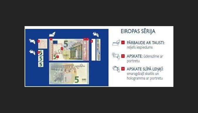 Jānis Blūms, 'Latvijas Banka': Kas jāzina par eiro banknotēm?