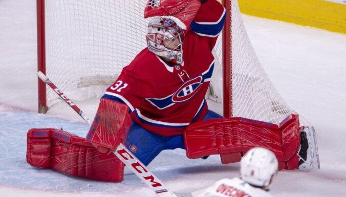'Canadiens' nonāk vienas uzvaras attālumā no Stenlija kausa fināla