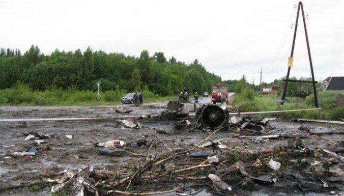 Следствие: штурман разбившегося Ту-134 был пьян