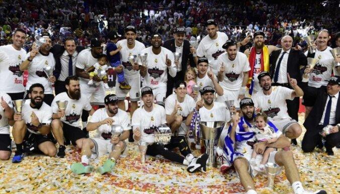 """""""Реал"""" победил в финале Евролиги и стал девятикратным чемпионом"""