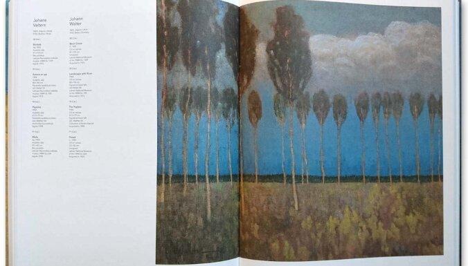 Izdots izstādes 'Nepieradinātās dvēseles. Simbolisms Baltijas valstu mākslā' katalogs