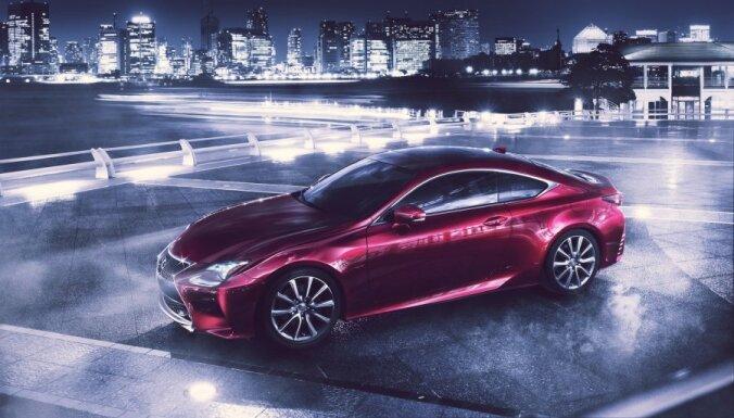 'Lexus' parādījis BMW 4. sērijas kupejas konkurentu