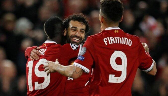 'Liverpool' ar diviem ātriem vārtiem tuvojas premjerlīgas rekordam