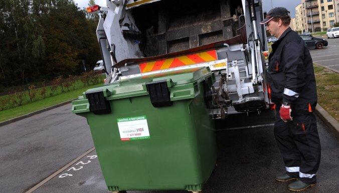 'CREB Rīga': Nešķiroto atkritumu apsaimniekošanas maksa Rīgā sadārdzināsies